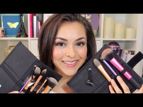 Real Techniques Makeup Brushes Review - TrinaDuhra - YouTube