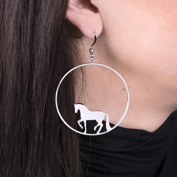 Náušnice PIAF - kôň | Katarina ZIAK