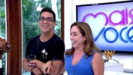 Cissa Guimarães estreia no Mais Você com André Marques: 'Desafio e bênção' - notícias em O programa - Mais Você