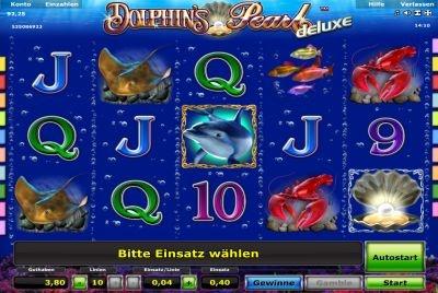 mit dolphin`s pearl reiht sich wieder ein fantastischer slot in die novoline games ein, der es in sich hat!