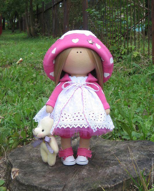 Куклы тыквоголовки ручной работы. Ярмарка Мастеров - ручная работа. Купить Куколка Сердечко. Handmade. Куколка, подарок, сердце