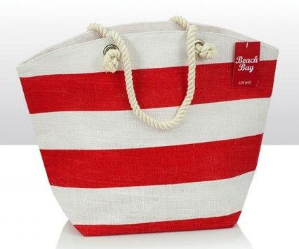 Check out new Quirky Gifts now online: Red & White Jute ... See it out here! http://www.feelingquirky.co.uk/products/red-white-jute-beach-bag?utm_campaign=social_autopilot&utm_source=pin&utm_medium=pin