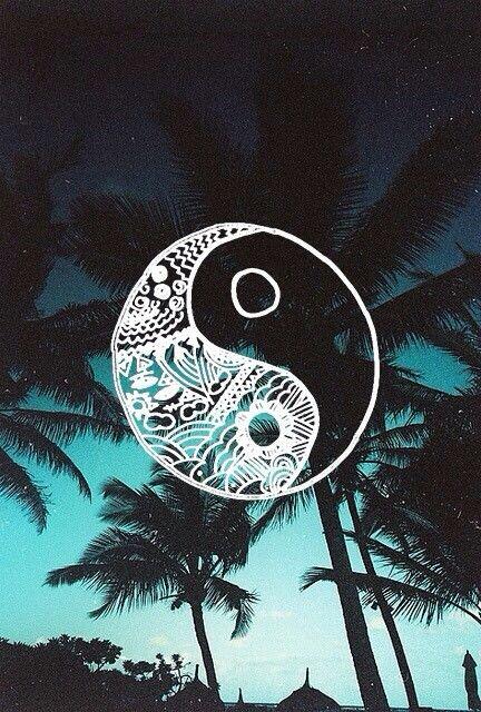 Hippie ying yang
