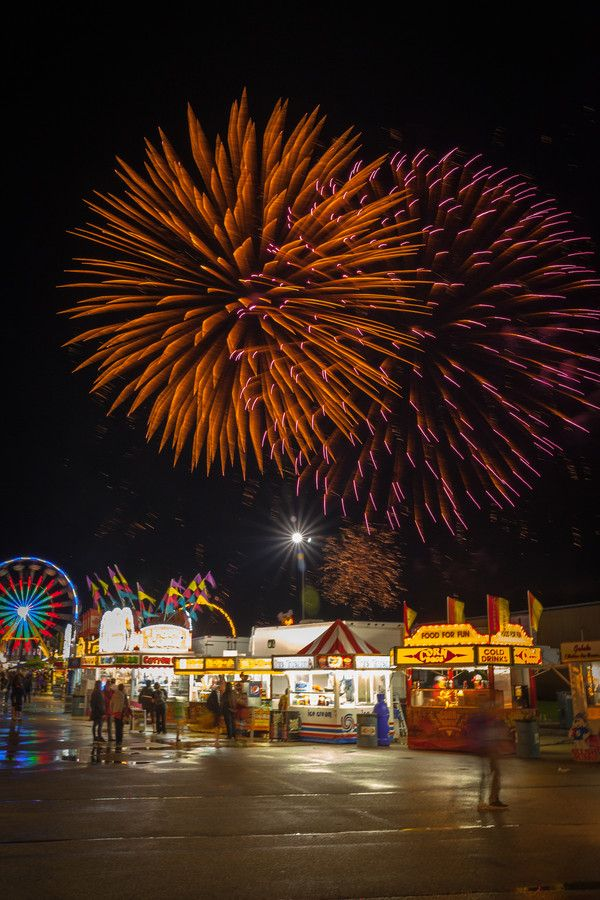 """Spend an evening at the Red River Ex, Winnipeg, Manitoba. 500px / Photo """"Red River Exhibition"""" by AJ Batac"""