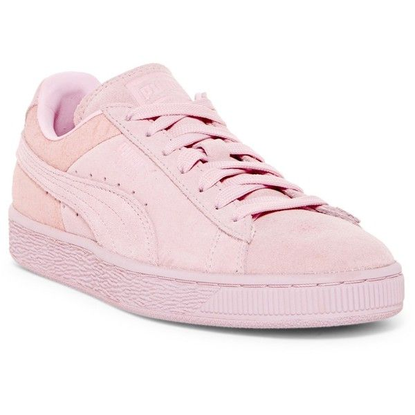puma shoes pink with bow. puma suede sneaker ($47) ❤ liked on polyvore featuring shoes, sneakers, pink puma shoes with bow