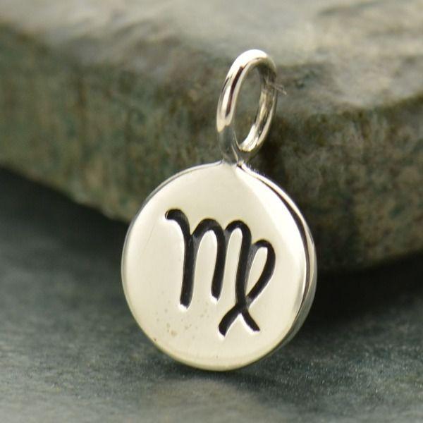 Virgo - Sterling Silver Zodiac Charm