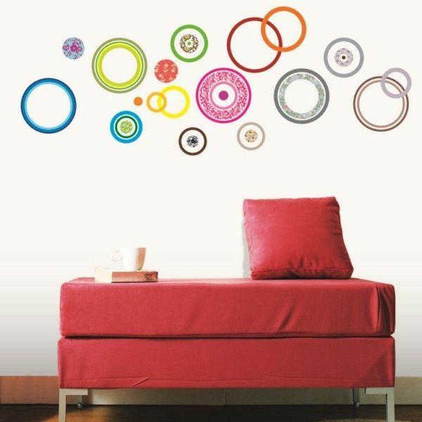 Ambiance Wall Stickers #2: Adesivo Bolle Colorate AMB-0018 : Adesivi Da Muro E Decorazioni Stickers  Per Pareti |