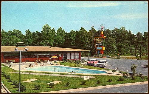 17 Best Images About Vintage Motels And Hotels On