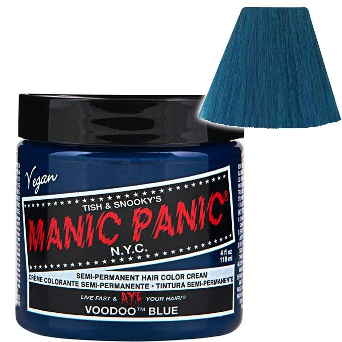 Manic Panic - Voodoo Blue Semi Permanent Hair Dye - #Vegan / #CrueltyFree