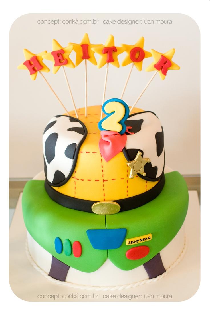 Toy Story - Birthday Cake Concept: www.conka.com.br Cake Design: Luan Moura