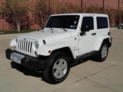 2012 Jeep Wrangler Sahara White http://www.iseecars.com/used-cars/2012-jeep-wrangler-for-sale#