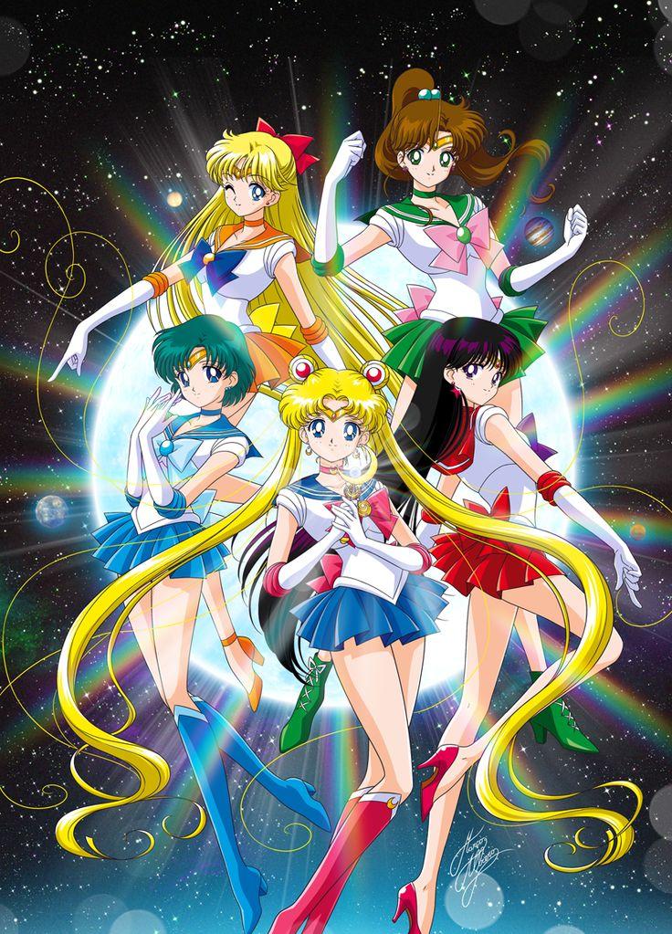 01 SAILOR MOON ANIME | Bishojo Senshi Sailor Moon Crystal | Fan Arts | Gallery | Marco Albiero