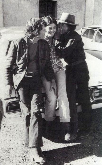 Bob Dylan,Rita Coolidge and Kris Kristofferson