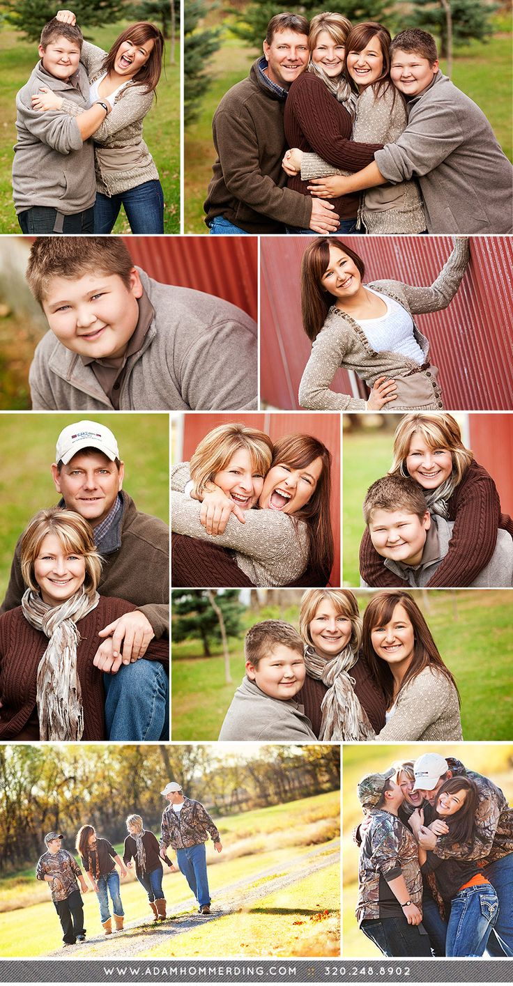 Family portrait pose ideas