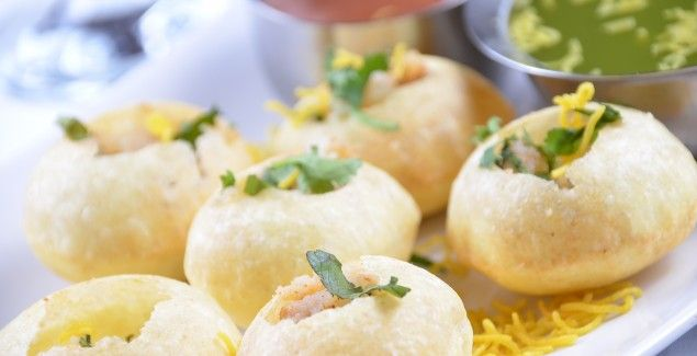 Yummy mouth watering pani puri for you.