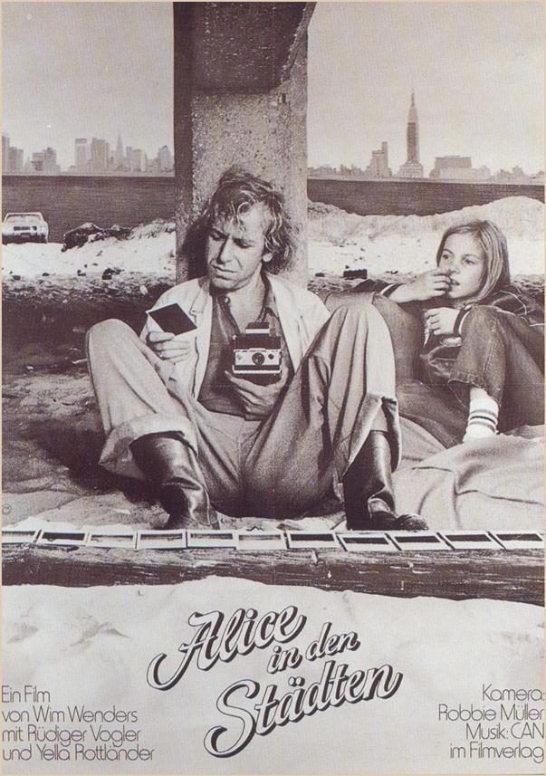 Alice in den Städten, Wim Wenders (1974) - I love this film