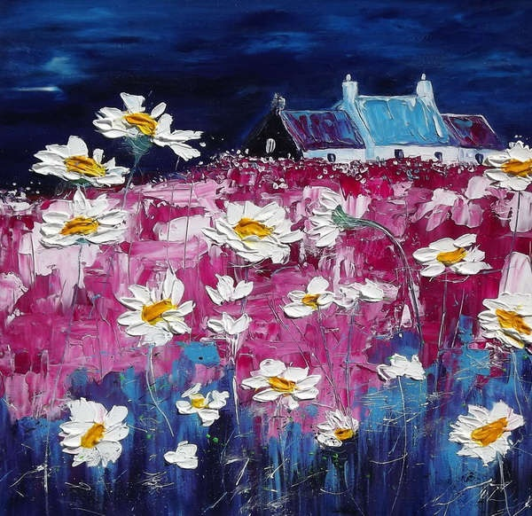 Amazing Daisies by Maria Mitchell