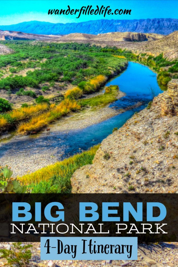 Four Day Itinerary for Big Bend National Park