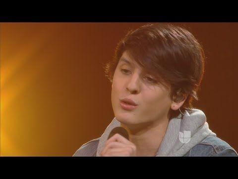 """Christopher Velez Sings """"Contigo"""" by Calibre 50   La Banda Live Shows 2015 - YouTube"""
