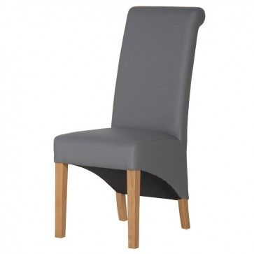 knotback grey dining chair