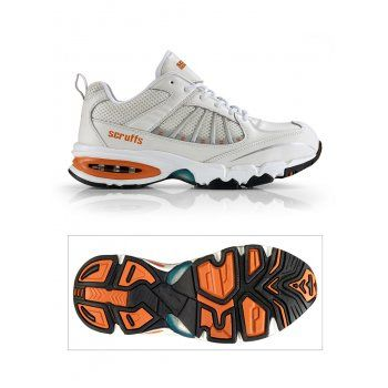 Scruffs Hyper Safety Trainer White