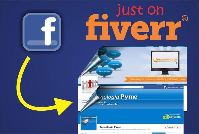 expectro29: crear una portada o diseño para facebook for $5, on fiverr.com