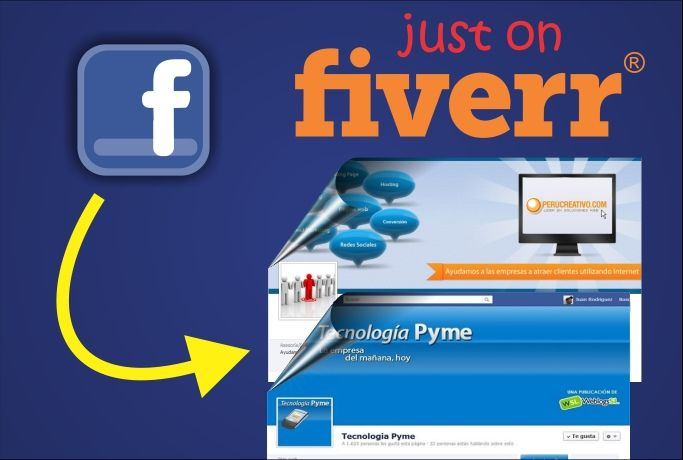 expectro29: crear una portada o diseño para facebook for $5, on fiverr.com