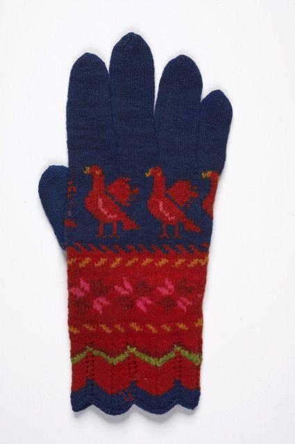 Estonian museum's Gate - gloves, mittens