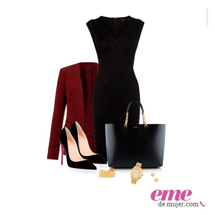 #OutfitEme La elegancia de los #Básicos. Para saber más de moda y ser toda una fashionista entra en nuestra página web web http://ve.emedemujer.com/moda/.