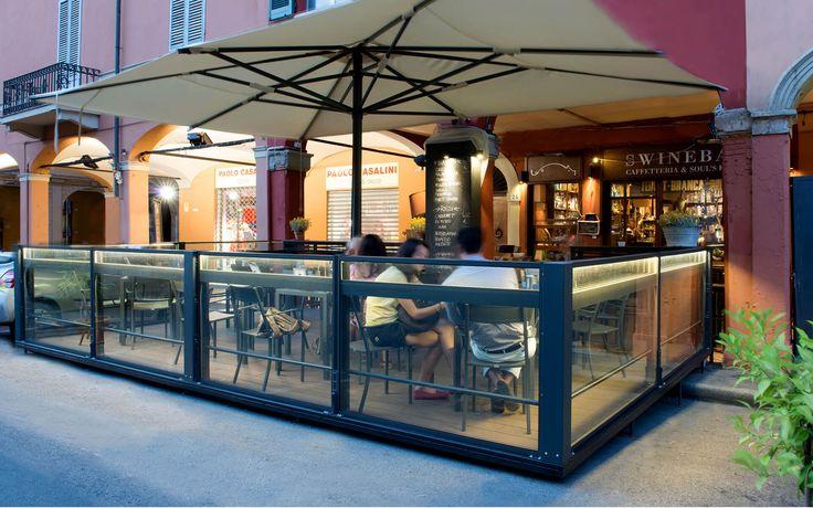 Una soluzione per il vostro ristorante.  #vetratepanoramiche   #vetratescorrevoli  #giardinidinverno  #vetrata  #coperturemobili   #vetratebalconi  #dehor  #casagiardino  #copertureamovibili   #paraventi