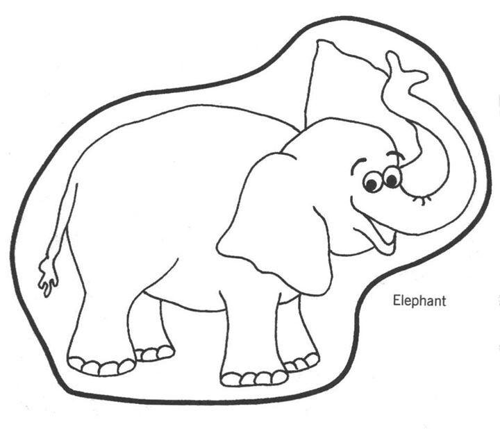 Elmer the Elephant Color Learning Visual Perceptual t