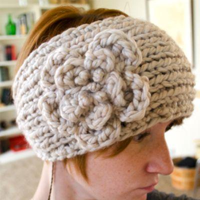 Park City Ear Warmer free pattern | Knitted headband, Ear ...