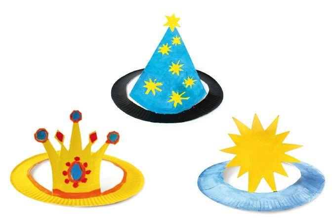 Fantasy & Märchen Hüte aus Papptellern