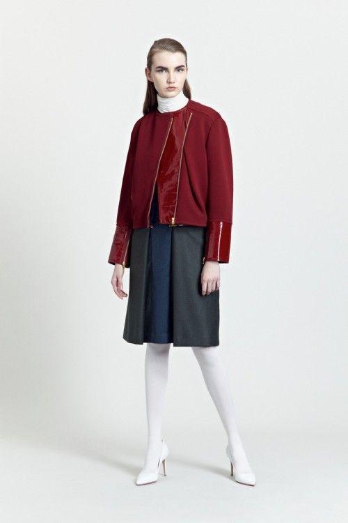 Siloa & Mook AW13: Giste Jacket, Hilla Dress.  #siloamook #fashionflashfinland #fashion #fashiondesigner #designer #aw13 #collection #Finland #Helsinki