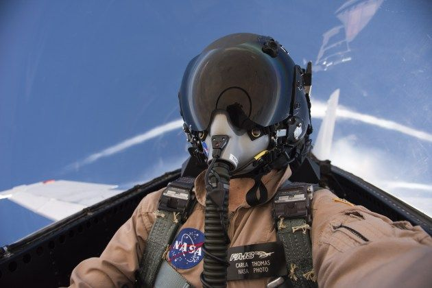 Photographer Carla Thomas on a Supersonic Flight http://ift.tt/2nGCNr1 March 21 2017 at 08:26AM  Photographer Carla Thomas on a Supersonic Flight  March 21 2017 http://ift.tt/2n43wL0 Armstrong Flight Research Center chief pilot Nils Larson and I were flying supersonic runs to note the handling qualities between the single seat and two seat F/A-18 aircraft for the Sonic Booms in Atmospheric Turbulence or SonicBAT program said Carla Thomas one of NASAs two female in-flight photographers…