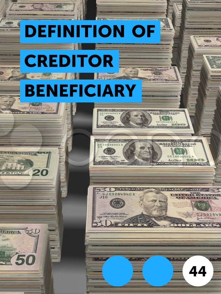Definition of Creditor Beneficiary in 2020 | Government grants ...