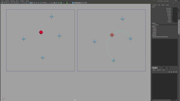 Cubic Bézier Node - C++ node for Maya on Vimeo