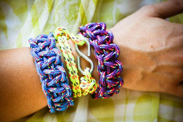 bracelet - tutorial video for knot