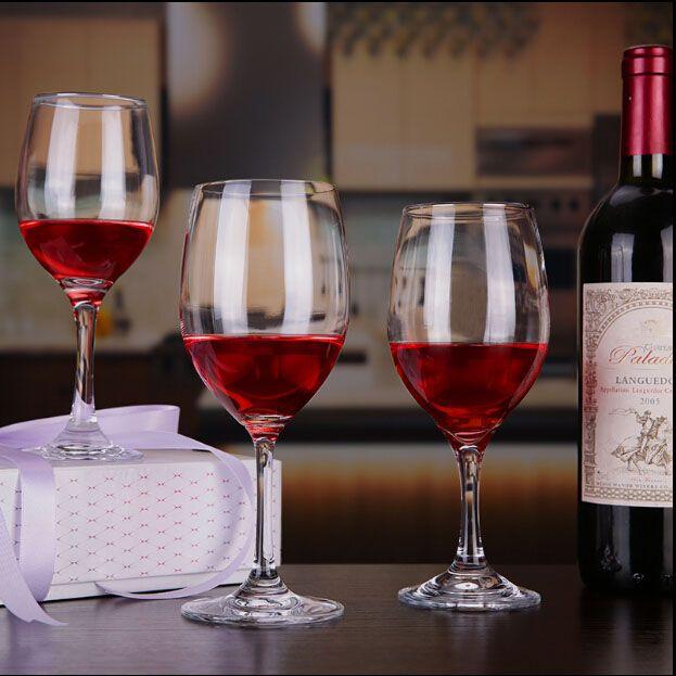 450ml glass goblets bulk wine glasses long stem wine glasses online wholesale