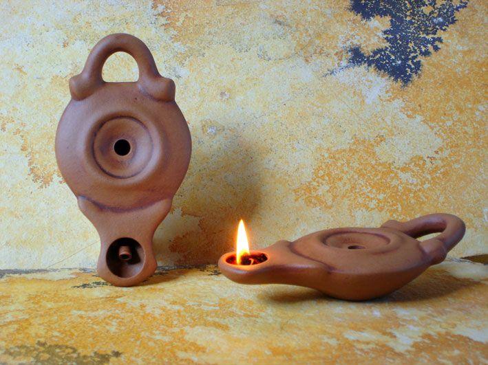 Ancient Ceramic Olive Oil Lamps Oil Lamps Without Decoration Ancient Oil Lamp Oil Lamps Ancient Lamp