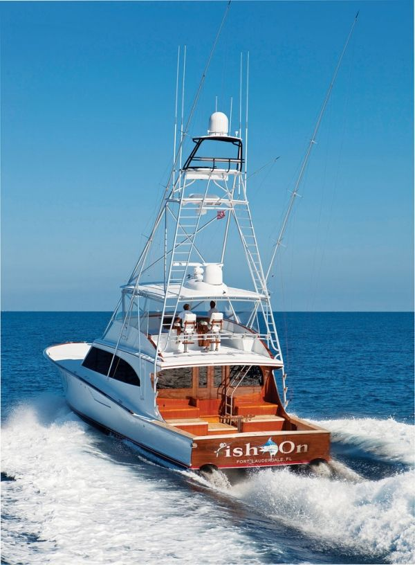 Because of jim smith s penchant for building racing boats for Sport fishing boats