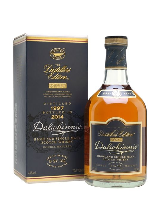 The 1997 vintage of Dalwhinnie Distillers Edition, bottled in 2014