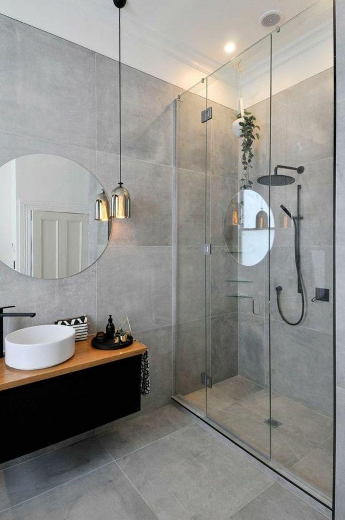 1001 Idees Pour Une Salle De Bain Avec Verriere Cloisons Douches Salle De Bain Design Salle De Bains Moderne Idee Salle De Bain