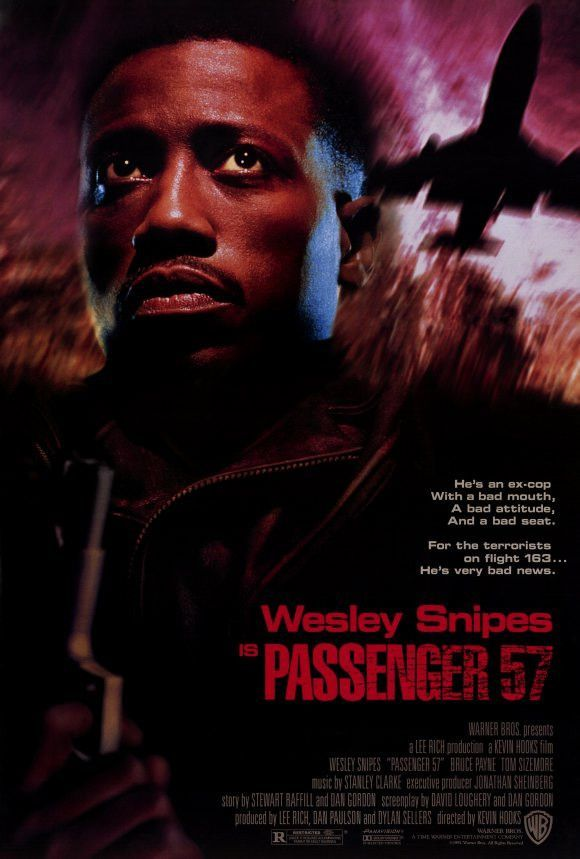 Passenger 57 27x40 Movie Poster (1992)