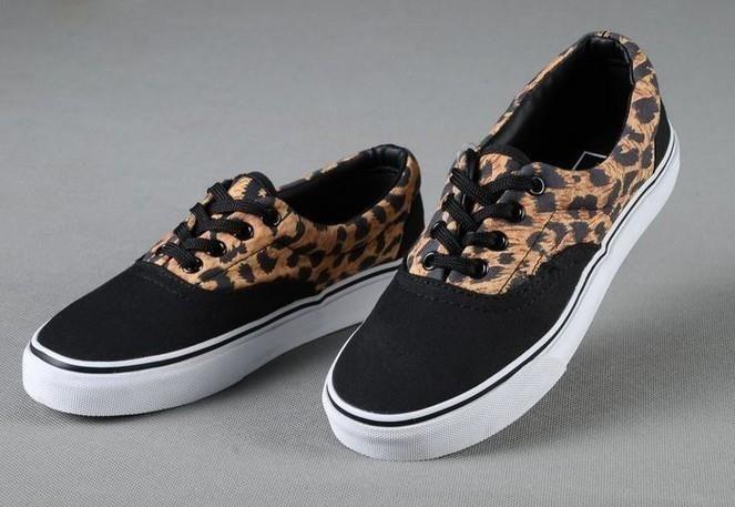 Леопардовые кеды