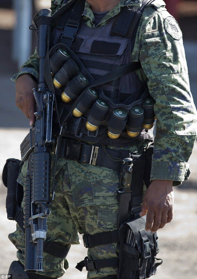 Soldado en Michoacán