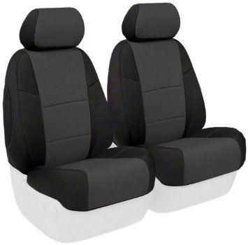 Amazon.com: Coverking Custom-Fit Front Bucket Seat Cover - Neoprene, Charcoal: Automotive