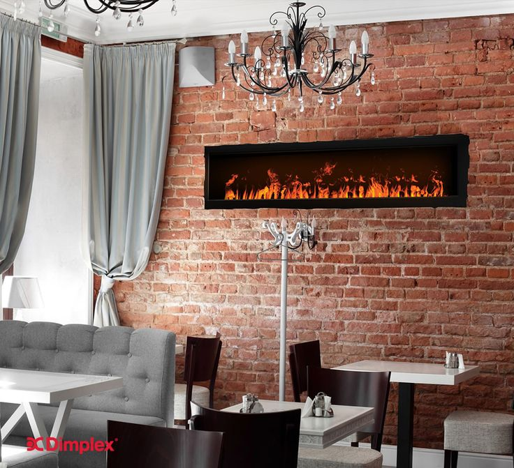 NEW Opti-myst® 1000 - Our longest Opti-myst® cassette, spans 3 feet (1 m) and can be connected in a series of cassettes for dramatic linear installations impossible to achieve with gas fireplaces. Dazzling flame realism that rivals gas, with the safety and simplicity of electric. #FireplaceWall Visit our website for more information |  http://www.dimplex.com/en/electric_fireplaces/optimyst/products/cdfi1000p/optimyst_r_1000_cassette
