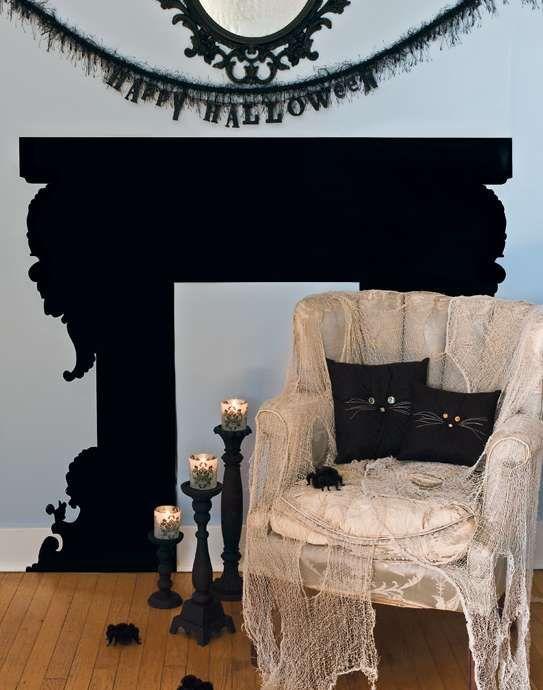 Inspirational Interior Halloween Decorating Ideas