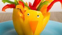 Foodie bunt Kinder Essen Gemüse gesund lustig lecker Selbermachen
